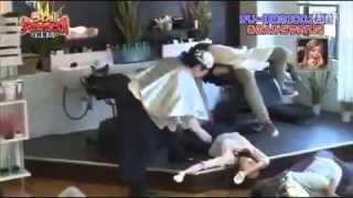 理髮店百人部隊整蠱影片